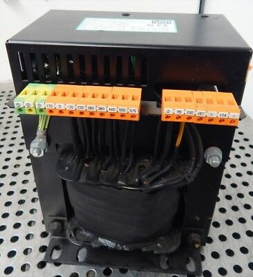 SBA Trafo Transformator  EGS 083-0093 1610 VA + 910 W 50 - 60 Hz - unused -
