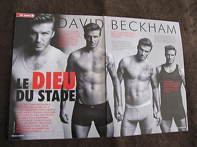 David Beckham Men Underwear Print Ads ,clippings 2012