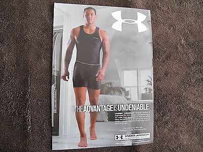Under Armour Men Underwear Print Ad ,clipping 05
