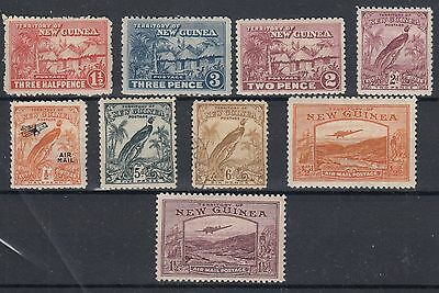 New Guinea   9 Stamps As Shown  Mounted Mint & Used   (1704)