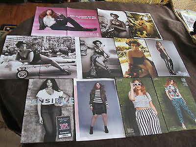 Great Lot Addition Elle + Size Fashion Print Ads Clippings