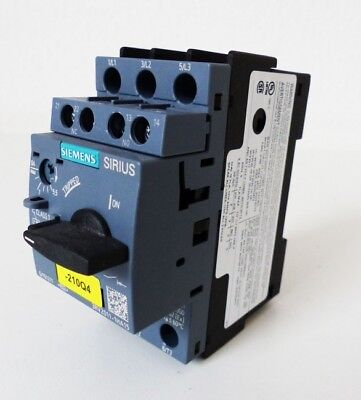 Siemens SIRIUS 3RV2011-1HA15 Circuit Breaker E-Stand: 02 -unused-