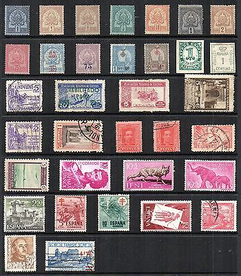 SPAIN & Colonies Collection INC 1889-93 TUNISIA Mint STAMPS Ref:QE492