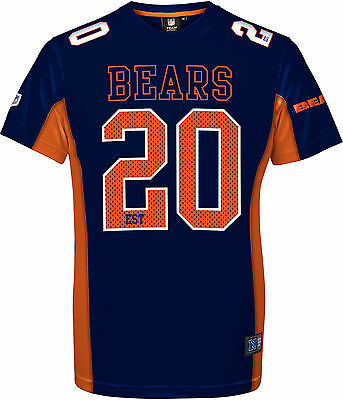 NFL Football Trikot Jersey Shirt CHICAGO BEARS 20 Established 1920 navy Majestic