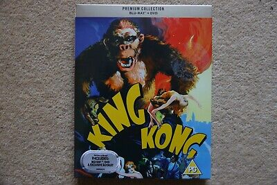 Blu-Ray  King Kong ( 1933   Premium Exclusive Edition  Brand New Sealed Uk Stock