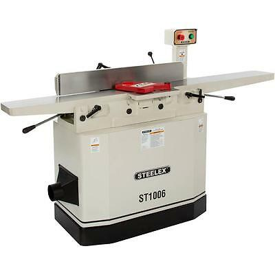 """Steelex Machinery Series by Shop Fox ST1006—8"""" 3hp Jointer with Adjustable Beds"""