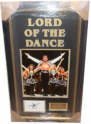 Michael Flatley SIGNED AUTOGRAPH Lord of The Dance Signing Info AFTAL UACC RD
