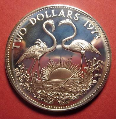 Bahamas Two Dollar 1973 Gem/pf   Br667