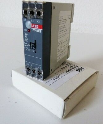 ABB CT-MKE 1SVR550019R0000 Time relay -unused/OVP-