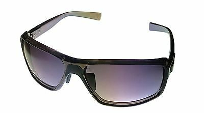 Kenneth Cole Reaction Mens Plastic Sunglass Black / Solid Smoke Lens KC1224 1A