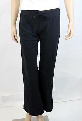 Pants Material Girl Sleepwear Black French Terry Boyfriend Pants S Small NWT New