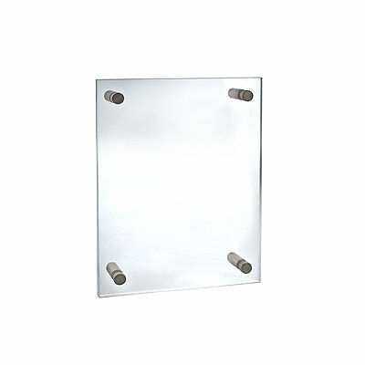 Azar 105512  9  x 12  Graphic Size Acrylic Standoff Sign Holder