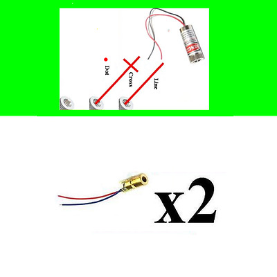 650nm rot Lasermodule Model Diode Red Laser Line Cross Module Focus Adjustable