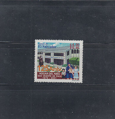 El Salvador 2001 Children's Home Sc 1551  Mint Never Hinged