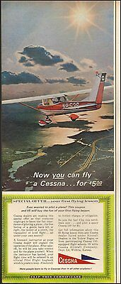 1966 Vintage ad Cessna `Airplane You can fly for $5.00 Photo  (083016)
