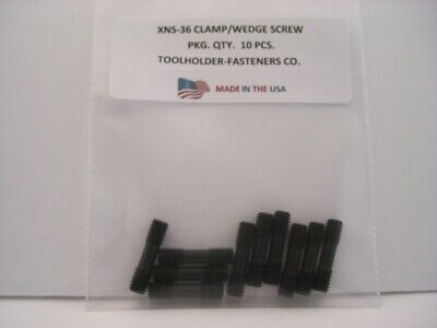 10 Pieces XNS-36 Clamp/Wedge Screw