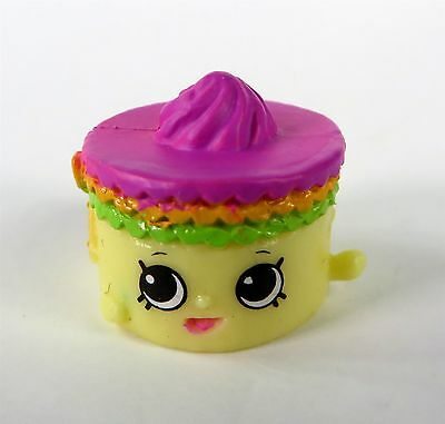 NEW Shopkins Season 7 Moose Toys 012 Yellow Becky Birthday Cake