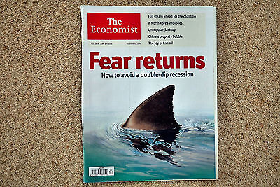 * The Economist May 29 - June 4 2010 * UK Recession China Property Bubble