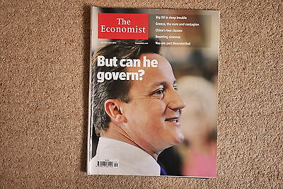 * The Economist May 8-14 2010 * UK 2010 General Election David Cameron