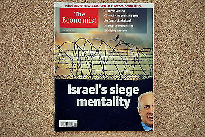 * The Economist June 5-11 2010 * Israel & Gaza South Africa Report