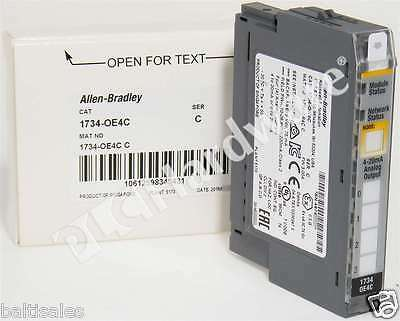 New Allen Bradley 1734-OE4C /C 2016 POINT I/O 24VDC 4-Ch Analog Current Output