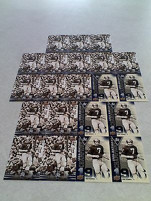 *****Tom Schoen*****  Lot of 21 cards....2 DIFFERENT / Notre Dame / Football