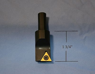 "1/2"" X 7/8"" Step Boring Bar, TPGB,  NEW, Indexable, Boring Head, Mill"
