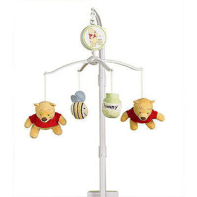 Disney Winnie the Pooh Crib Musical Mobile New!