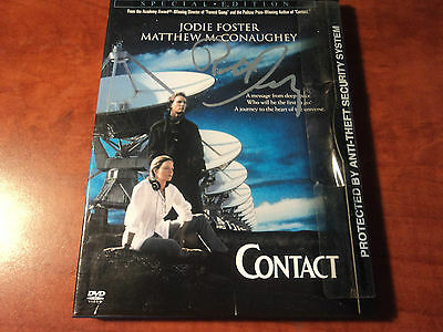 ROBERT ZEMECKIS - SIGNED AUTHENTIC Contact BACK TO THE FUTURE DVD Case - JSA COA