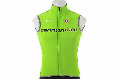 Castelli Perfetto Team Cannondale Cycling Vest SMALL Road Mountain Bike