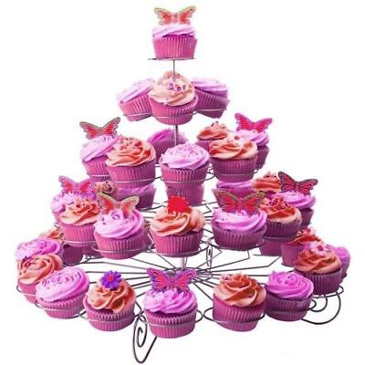 Cupcake Stand 3-5Tier 13/23/41 Cakes Wedding Party Dessert Display Tower Holder