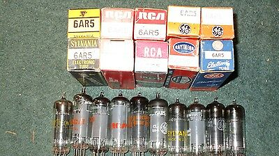 (10) NOS NIB RCA  Other 6AR5 Ham   Radio Audio  Tubes