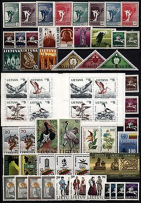 009 Lithuania 1990-1994 Collection **MNH