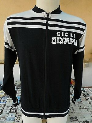 GIACCA CICLISMO CICLI OLYMPIA ANNI 70 BOSCARIOLO VINTAGE 1970s CYCLING JACKET