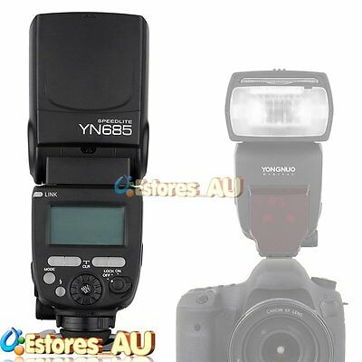 YONGNUO YN685 TTL Wireless HSS Slave Flash Speedlite GN60 For Canon Camera