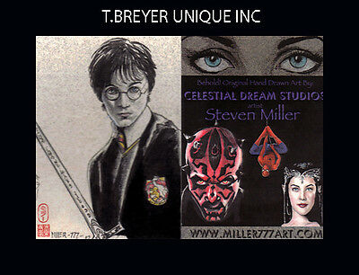 HARRY POTTER SUBMISSION ARTIST PROOF SKETCH CARD MILLER a