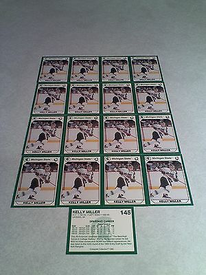 *****Kelly Miller*****  Lot of 17 cards / Michigan State / Hockey