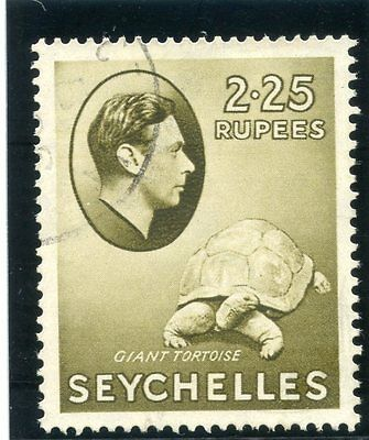 Seychelles 1938 KGVI 2r25 olive very fine used. SG 148. Sc 147