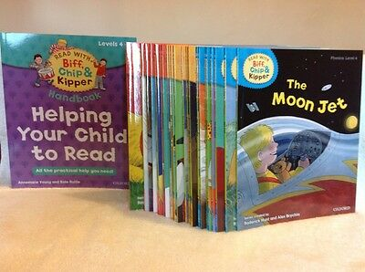 Oxford Reading Tree 25 books Biff Chip & Kipper Phonics Levels 4- 6 Read at home