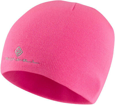 Ronhill Additions Classic Beanie Hat Warm Thermal & Outdoor Wear - Pink *SALE*