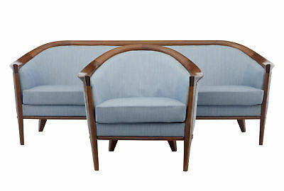20Th Century 2 Piece Teak Andersson Suite Sofa And Armchair