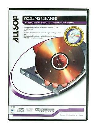 Allsop ProLens Laser Lens Diagnostic Cleaner for DVD, CD & Game Consoles