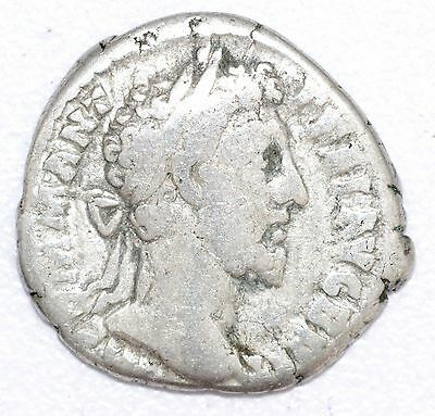 AUTHENTIC COMMODUS ROMAN COIN , AR Silver Denarius -  rev. LIBERALITAS - A787