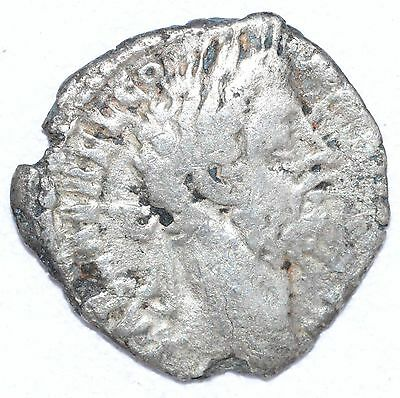 AUTHENTIC COMMODUS ROMAN COIN , AR Silver Denarius -  rev. MARS - A790