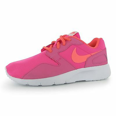 Nike Kaishi Running Trainers Junior Girls Pink/Lava/White Sports Shoes Sneakers