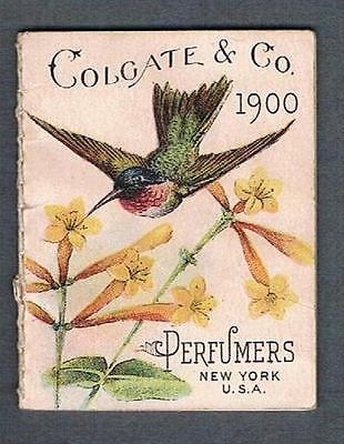 Original 1900 Colgate & Co. Toilet Soap & Perfume Yearly Ad Brochure Calendar