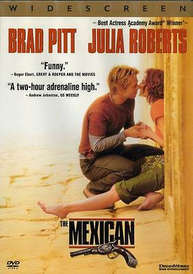 Dvd The Mexican Brad Pitt Julia Roberts