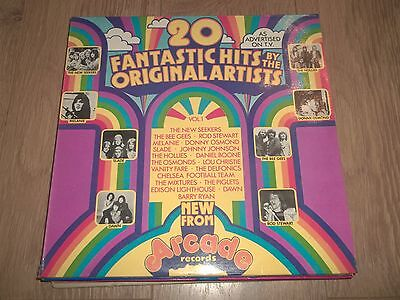 "V/a "" 20 Fantastic Hits By The Original Artists "" Vinyl Lp Ex/ex 1972"