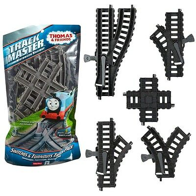 Thomas and Friends - Set Rails Turnouts Expansion - Trackmaster Revolution Matte
