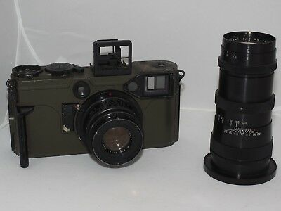 Graflex 70mm US Army Combat-70 Graphic KE-4. Good two lens set for display.